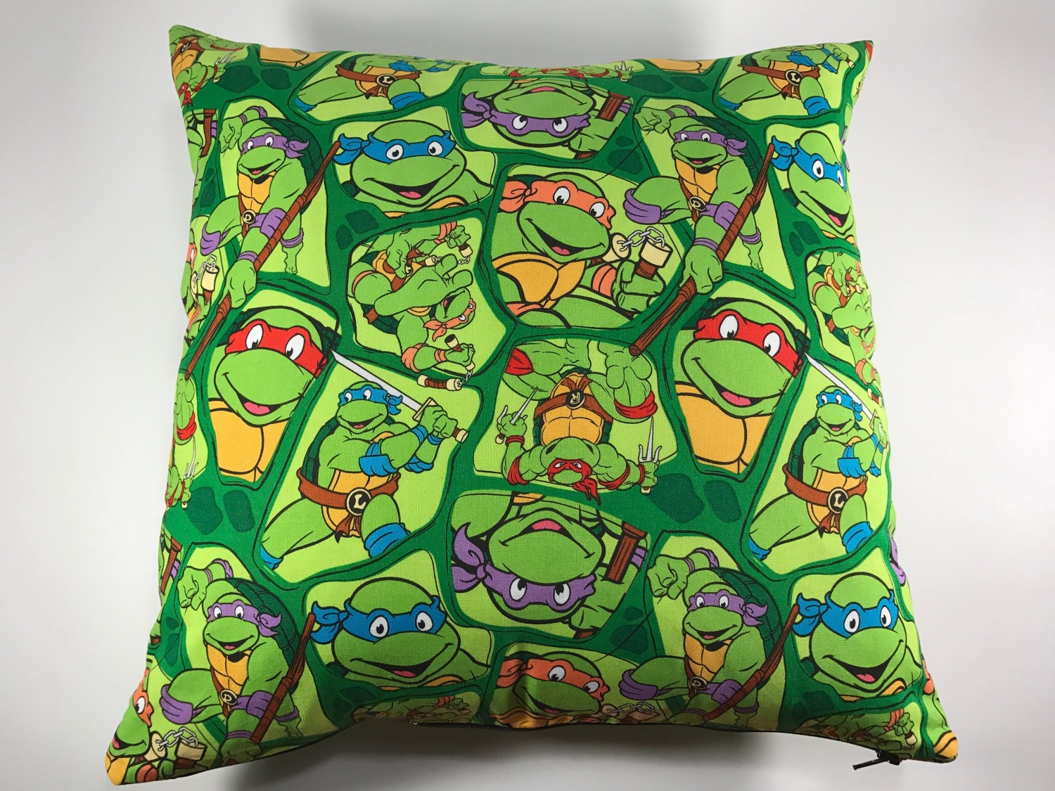 Ninja Turtle Decorative Pillow : Toss Pillow Teenage Mutant Ninja Turtles TMNT Decorative
