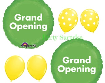 Grand Opening Balloon Package Grand Opening Party Store Company Business Balloons Advertising Balloons