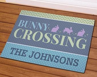 Personalized Doormat, Easter Door Mat