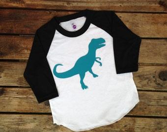 T-rex shirt, baseball T rex shirt, T-rex boy shirt, boy dinosaur shirt, T rex, Dinosaur shirt, boy dinosaur shirt, triceratops