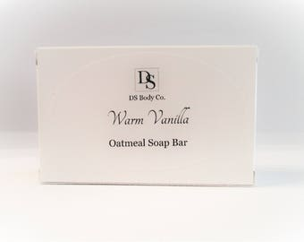 Natural Oatmeal Soap Bar Vegan