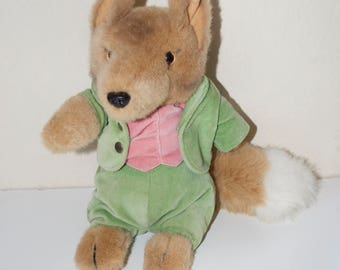 Mr. Tod the Fox from Peter Rabbit Beatrix Potter Eden Toy Stuffed Animal Plush 10""