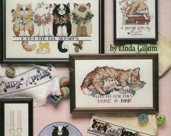 Cat Purr-sonalities Cross Stitch Booklet
