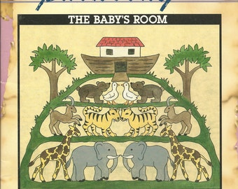 Parchment Painting:  The Baby's Room Booklet