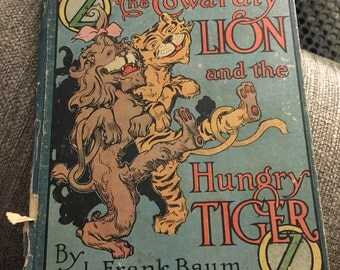 the cowardly lion and the hungry tiger pdf