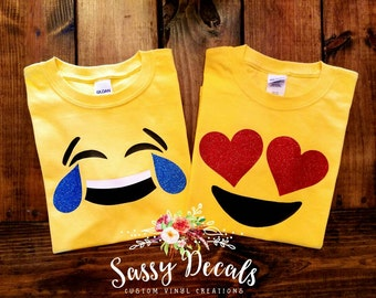 Emoji shirt - multiple emoji options!