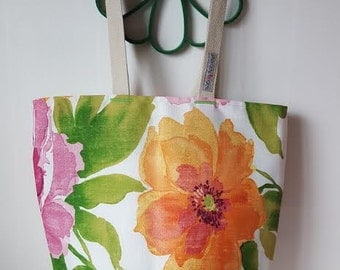 BEACH BAG -Fully Lined All Purpose Bag