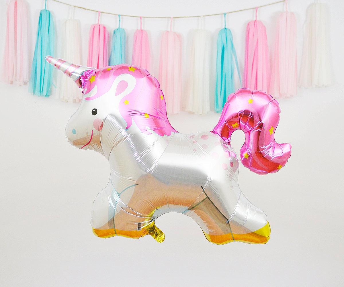 36 Unicorn Mylar Balloon Unicorn Foil Balloon Unicorn