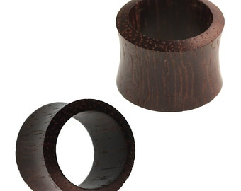 Wood tunnel Ironwood convex dark brown organic wooden tunnel (No. HPT-420)