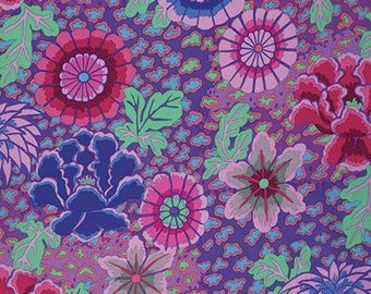 1/2 Yard Dream Purple Kaffe Fassett fabric GP148