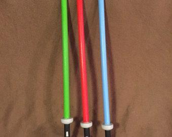 Light saber, pinata stick