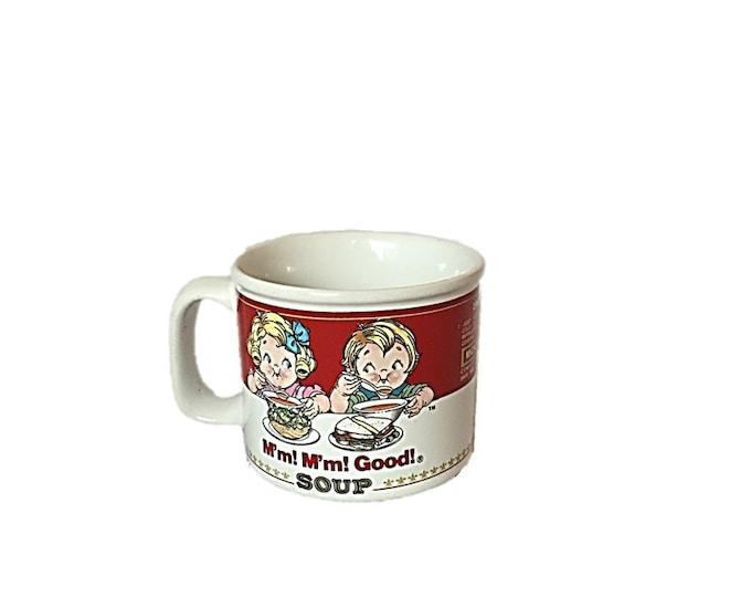 Vintage Campbell Soup M'm! M'm! Good! Mug by Westwood | Campbells Kids Advertising | Microwave Safe