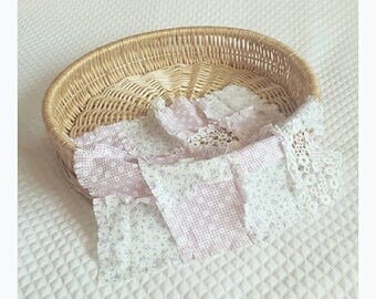 Mini shabby layer/ posing blanket. Ready to post. Girls. Patchwork. Photography prop.