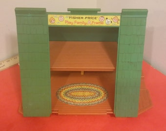 Fisher Price Little People A Frame House - 1970's