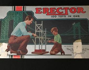Collectors-1951 Gilbert Erector Set No. 6 1/2