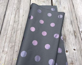 Black Polka Dot Tissue Paper/20 Sheets Tissue Paper/Black Tissue Paper/