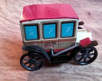 Vintage Mighty Midget clutch lever antique miniature car 1960s madein Japan