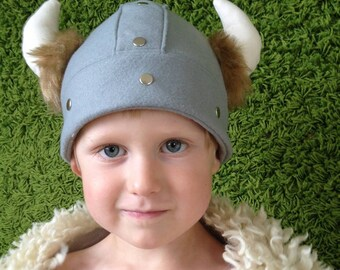 Viking Helmet, Children's, Felt