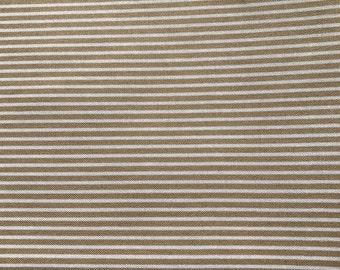 Beige Lines. Beige Fabric