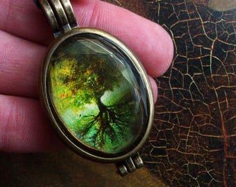 Oval Tree Locket