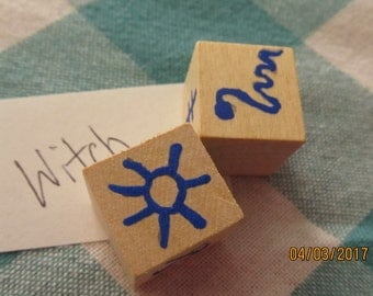 Witch Rune Dice Divination