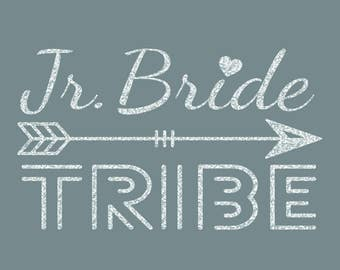 Junior Bride Tribe Iron On Decal