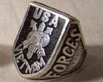 USA Vietnam Special Forces Ring