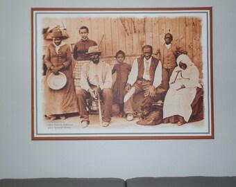 Harriet Tubman UGRR framed canvas print
