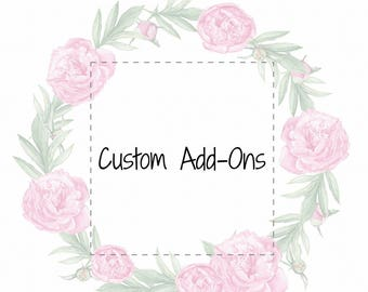 Custom Add-Ons