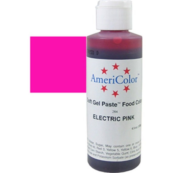 Electric Pink Food Coloring/ Neon Pink Food Coloring/ Americolor ...