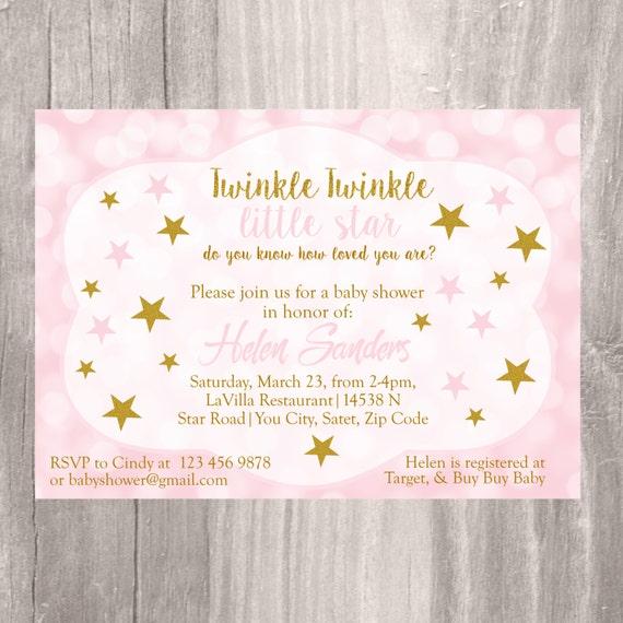 Baby shower invitation twinkle twinkle little star baby shower il570xn filmwisefo
