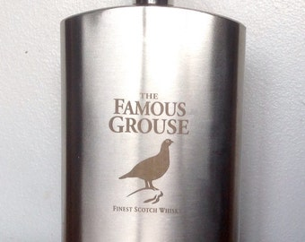 The Famous Grouse 4 oz Hip Flask.