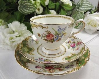 Tuscan Royal, Windsor Teacup, Saucer, Plate