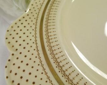 Paragon, Vintage Paragon Polka Dot Cake Plate ( 2 Available)