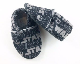 Star Wars Softsole Shoes, Slip Ons, Slippers. Crib Shoes