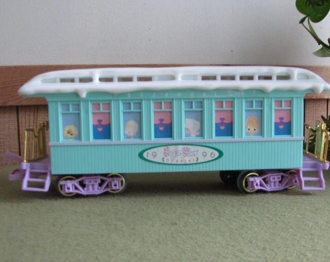 Precious Moments Sugar Town Railroad Express Rail Car 1996 Train Set Piece Retired Limited Edition