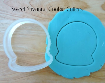 Snow Globe Cookie Cutter - Christmas Cookie Cutter
