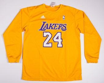Vintage LA Lakers Kobe Bryant Basketball Long Sleeved Tshirt