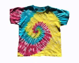 Tie Dye Shirt Youth Classic Spiral