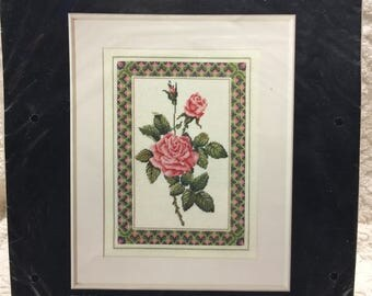 Dimensions Needlepoint Kit - The Rose
