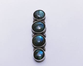 Labradorite Statment Ring, sterling silver