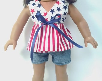 4th of July outfit for your American girl doll
