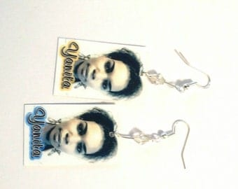 Personalized 2-sided earrings