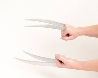 X23 Claws in Two Sizes - Brushed Metallic Powder Cast - Comfortable and Easy to Assemble!