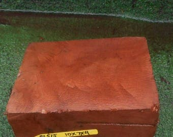 BL515  Wood turning Block/Blank  Redwoodburl craft wood