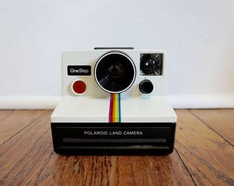 70s Vintage Polaroid One Step Camera// Polaroid Land Camera// Sx-70 Land Film// Photography