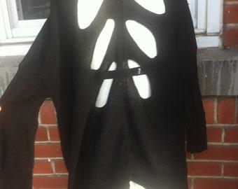 open back cardigan size Medium