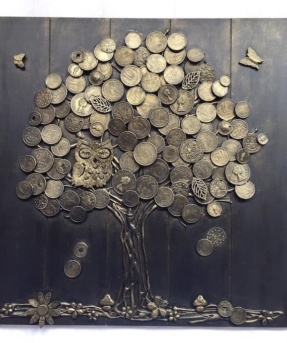 Geldbaum Basteln Mit Münzen Dansenfeesten