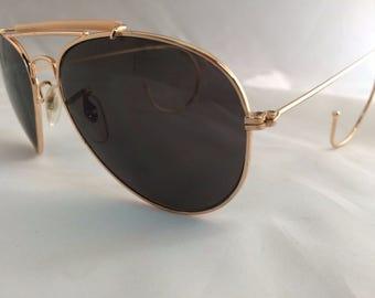 Custom Made to Order UV400 Pilot Cop Aviator Sunglasses UV400 Polycarbonate New