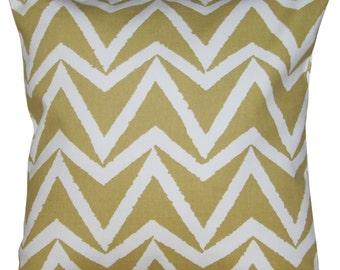 Scion Dhurrie Sauterne Yellow Cushion Cover